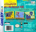 GameBoy Color - Emperor's New Groove (back)