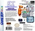 GameBoy Color - E.T. Digital Companion (back)