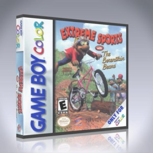 GameBoy Color - Extreme Sports with The Berenstain Bears