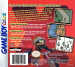 GameBoy Color - Extreme Sports with The Berenstain Bears (back)