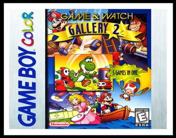 GameBoy Color - Game & Watch Gallery 2 Poster