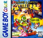 GameBoy Color - Game & Watch Gallery 2 (front)