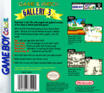 GameBoy Color - Game & Watch Gallery 3 (back)