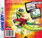 GameBoy Color - Gex: Enter the Gecko (back)
