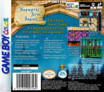 GameBoy Color - Harry Potter and the Sorcerer's Stone (back)