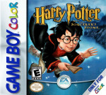 GameBoy Color - Harry Potter and the Sorcerer's Stone (front)
