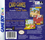 GameBoy Color - Hoyle Card Games (back)