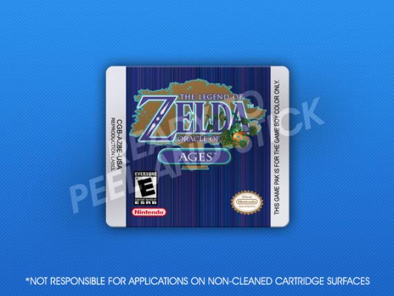GameBoy Color - Legend of Zelda: Oracle of Ages