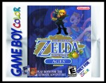GameBoy Color - Legend of Zelda, The: Oracle of Seasons Poster