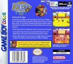 GameBoy Color - Legend of Zelda: Oracle of Ages (back)