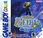 GameBoy Color - Legend of Zelda: Oracle of Ages (front)