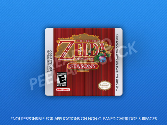 GameBoy Color - Legend of Zelda: Oracle of Seasons