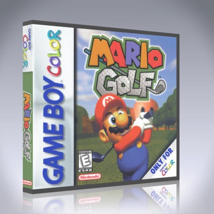 GameBoy Color - Mario Golf