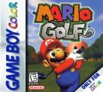 GameBoy Color - Mario Golf (front)