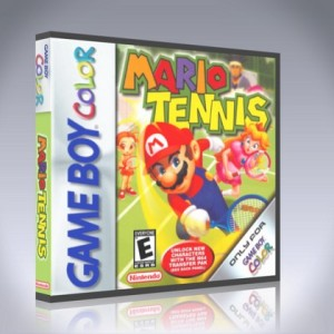 GameBoy Color - Mario Tennis