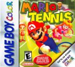 GameBoy Color - Mario Tennis (front)
