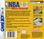 GameBoy Color - NBA 3 on 3 Featuring Kobe Bryant (back)