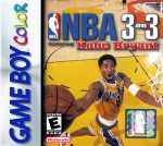 GameBoy Color - NBA 3 on 3 Featuring Kobe Bryant (front)
