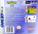 GameBoy Color - Pokemon Crystal Version (back)