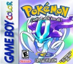 GameBoy Color - Pokemon Crystal Version (front)