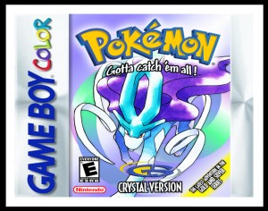 GameBoy Color - Pokemon Crystal Version Poster