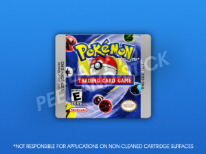 GameBoy Color - Pokemon Trading Card Game Label