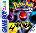 GameBoy Color - Pokemon Trading Card Game 2: The Invasion of Team GR (front)