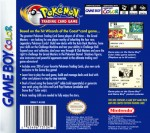 GameBoy Color - Pokemon Trading Card Game (back)