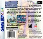 GameBoy Color - Pooh and Tigger's Hunny Safari (back)