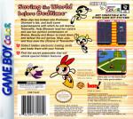 GameBoy Color - Powerpuff Girls: Bad Mojo Jojo (back)