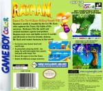 GameBoy Color - Rayman (back)