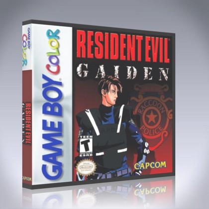 GameBoy Color - Resident Evil Gaiden