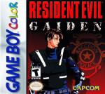 GameBoy Color - Resident Evil Gaiden (front)
