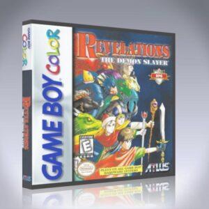 GameBoy Color - Revelations: The Demon Slayer