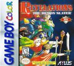 GameBoy Color - Revelations: The Demon Slayer (front)