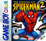 GameBoy Color - Spider-Man 2: The Sinister Six (front)