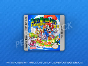 GameBoy Color - Super Mario Land 2: 6 Golden Coins DX Label