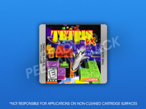 GameBoy Color - Tetris DX Label