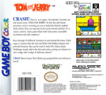 GameBoy Color - Tom and Jerry (back)