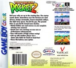 GameBoy Color - Top Gear Pocket 2 (back)