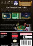 Gamecube - Legend of Zelda: Four Swords Adventures (back)