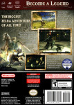 Gamecube - Legend of Zelda: Twilight Princess (back)