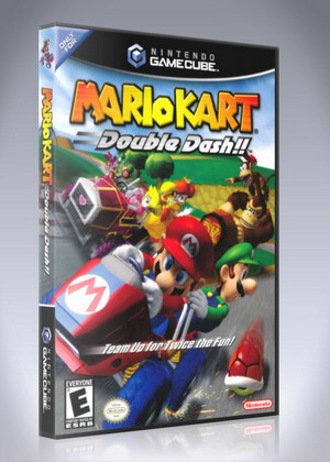 Gamecube Mario Kart Double Dash Retro Game Cases