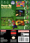 Gamecube - Mario Power Tennis (back)