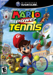 Gamecube - Mario Power Tennis (front)
