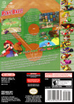 Gamecube - Mario Superstar Baseball (back)