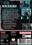 Gamecube - Metal Gear Solid: The Twin Snakes (back)
