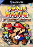 Gamecube - Paper Mario: The Thousand Year Door (front)