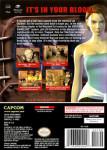 Gamecube - Resident Evil 3: Nemesis (back)