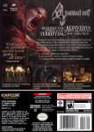 Gamecube - Resident Evil 4 (back)